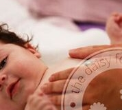 watermark baby massage